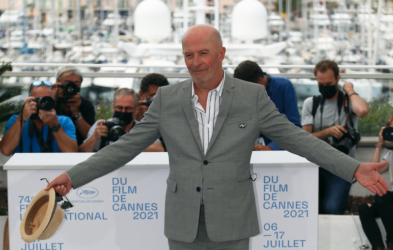 Director Jacques Audiard poses in Cannes July 15, 2021. — Reuters pic