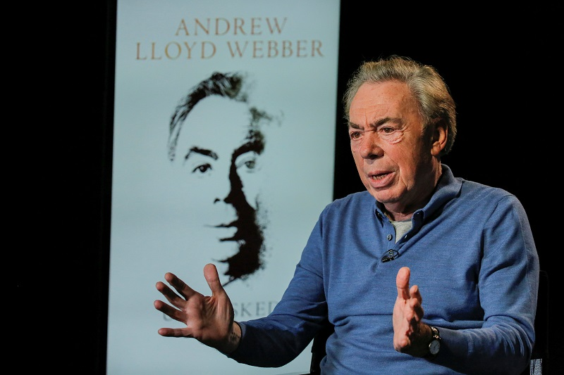 Lloyd Webber, the creator of hit shows including 'Cats' and 'Phantom of the Opera', is one of the most influential and successful figures in the theatre world and had been a key voice urging support for theatre during the pandemic. — Reuters pic