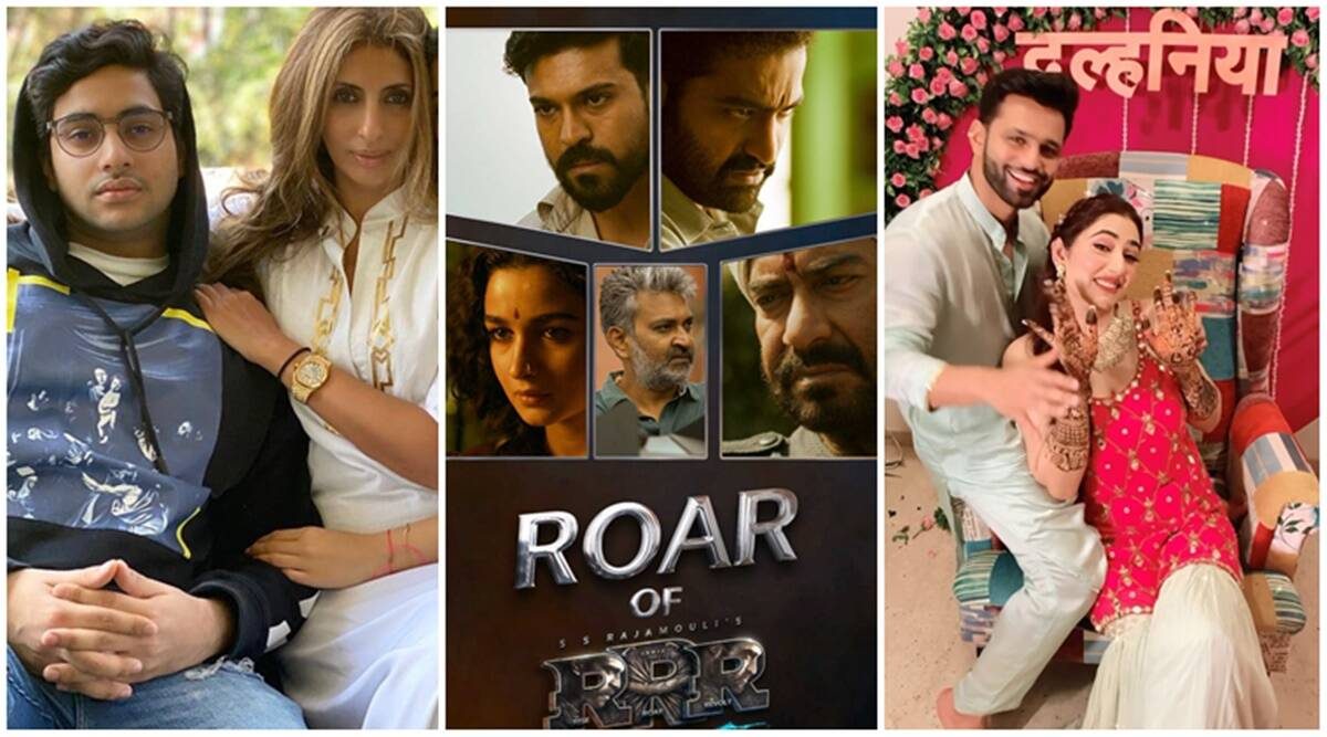 SS Rajamouli shares the making of the RRR movie video