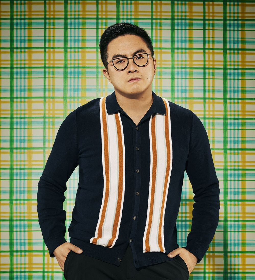 The 30-year-old Chinese American actor said he knows what it's like to be 'made to feel less than'. — Picture by Pari Dukovic for Comedy Central