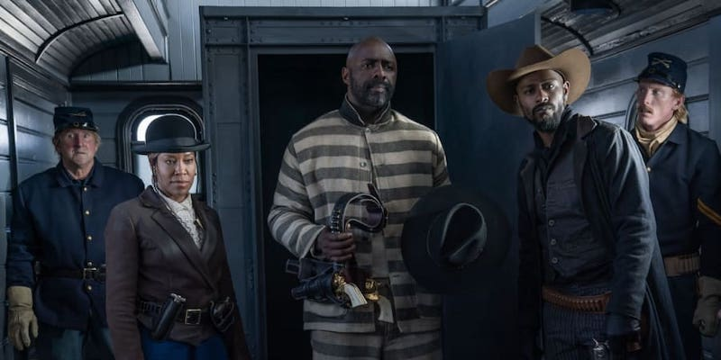 'The Harder They Fall', a Western co-produced by Jay-Z and starring Idris Elba, will screen at the London Film Festival. — Picture courtesy of Netflix