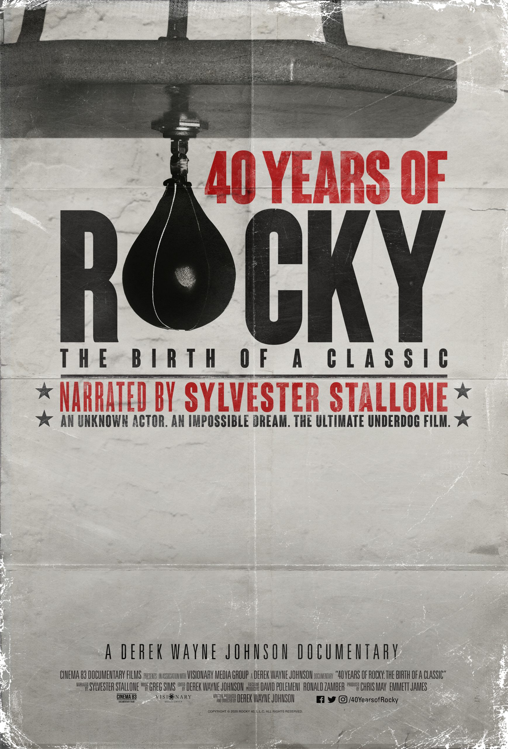 40 Years of Rocky: The Birth of a Classic 2020 فيلم مترجم