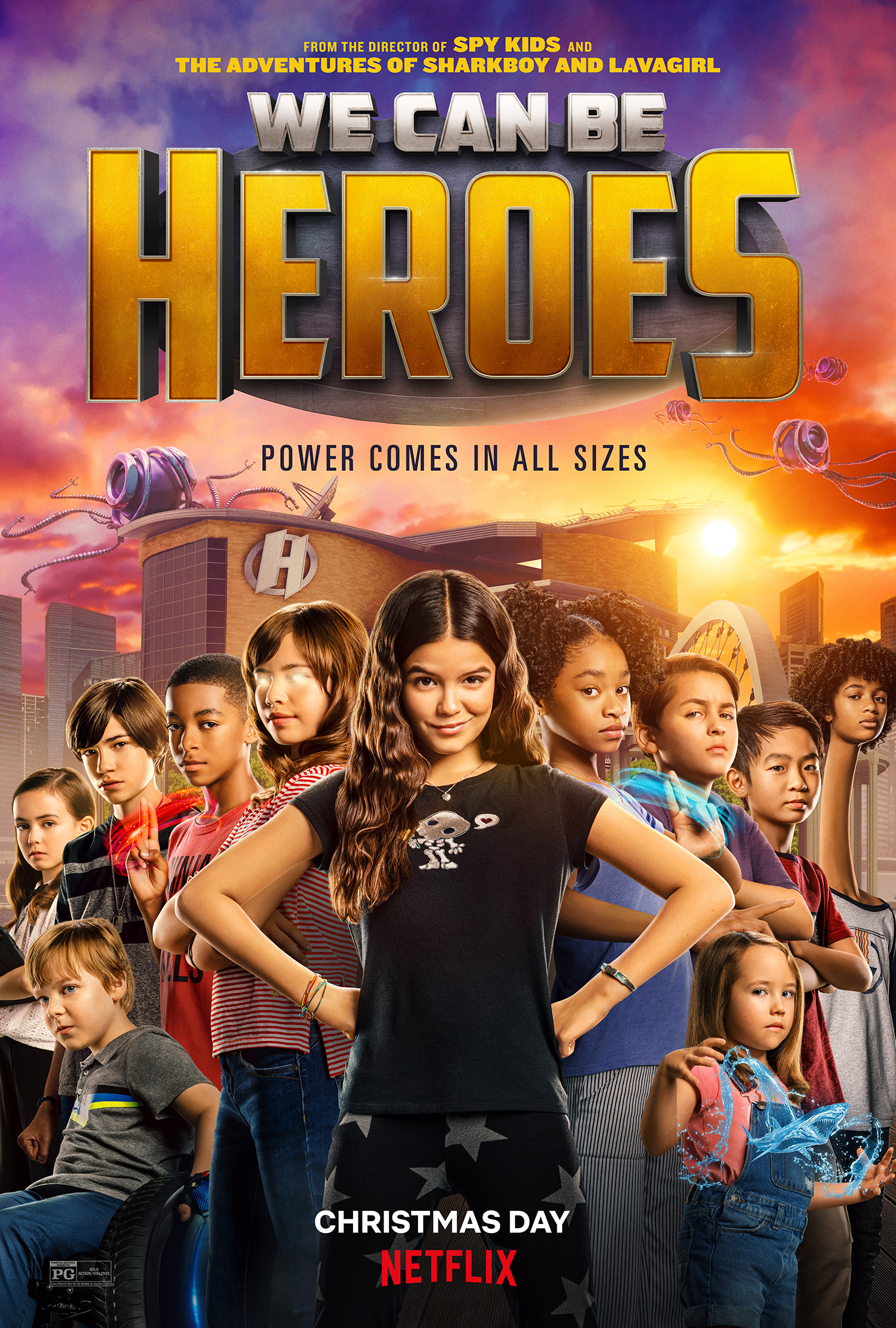 We Can Be Heroes 2020 فيلم مترجم