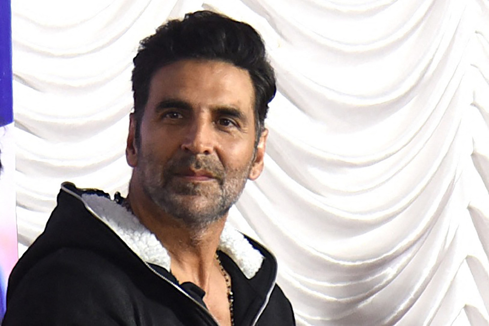 Bollywood actor Akshay Kumar. — AFP pic