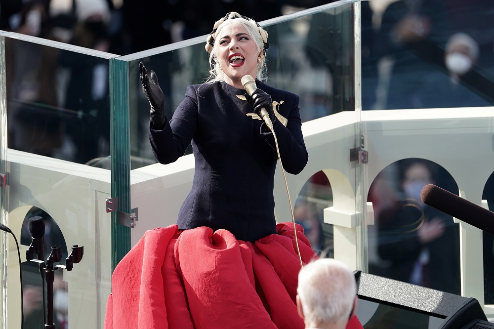 Lady Gaga performs during the 59th Presidential Inauguration in Washington January 21, 2021. ― Reuters pic