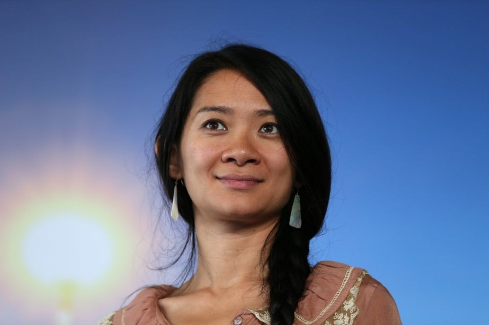Beijing-born director Chloe Zhao's US road movie Nomadland has stoked controversy in China. — AFP pic