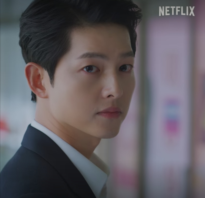 The controversial scene featuring a Chinese product in popular Korean TV series Vincenzo starring Song Joong-ki is being removed from streaming services. — Picture via Facebook