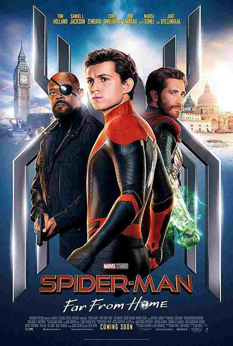 'Spider-Man: Far From Home' poster — Image courtesy of Marvel Studios via AFP