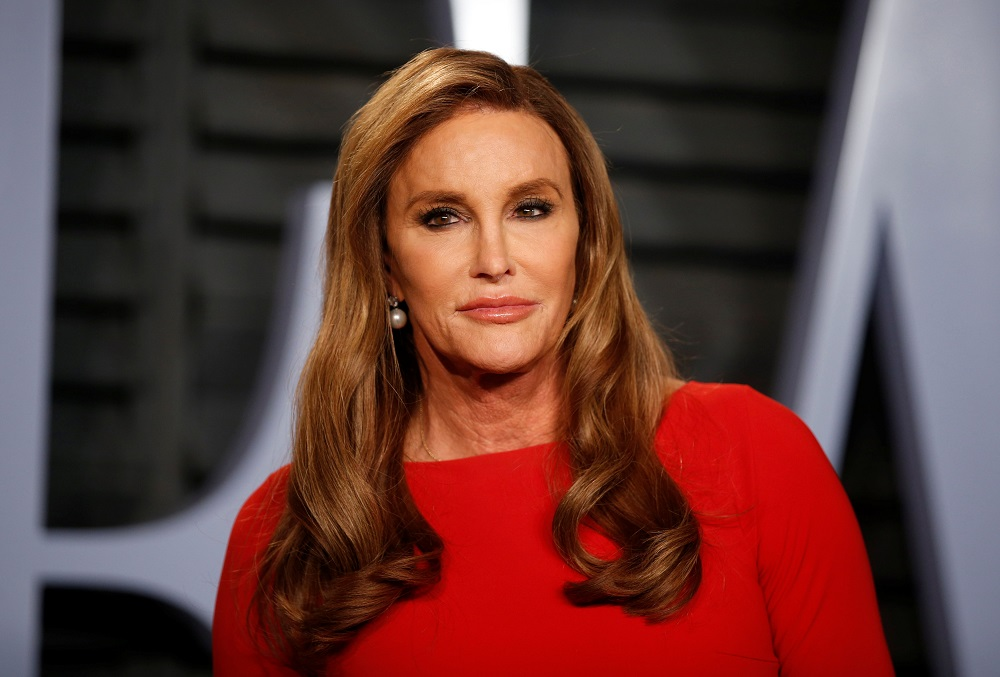 Caitlyn Jenner, 71, said trans girls should not be allowed to compete in sports with other girls as it 'just isn't unfair'. — Reuters pic