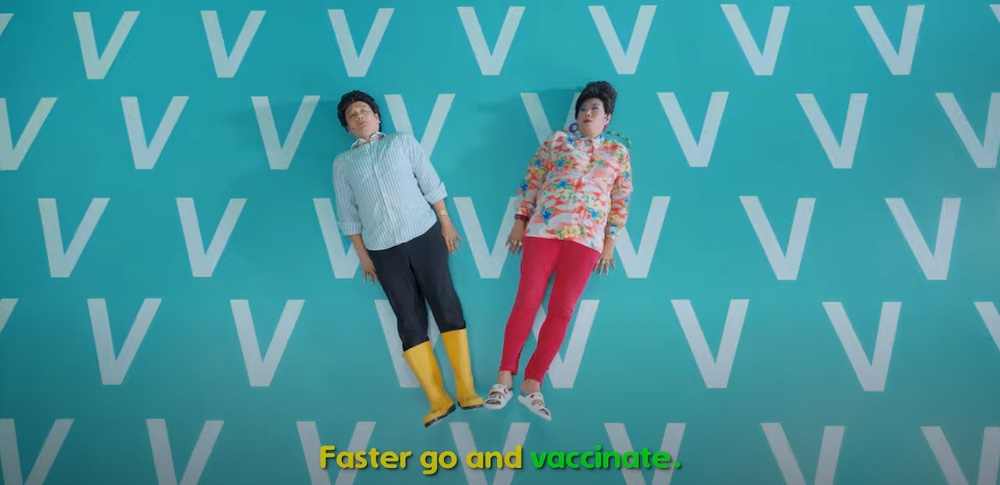 Popular character Phua Chu Kang is urging Singaporeans to get vaccinated in a new PSA video. — Screenshot from Twitter/ Singapore Government