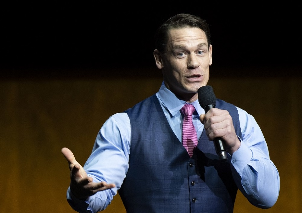 The American wrestler and actor John Cena left his diplomatic lane during a trip to Taiwan in early May to promote the franchise of action movies about fast cars, making the 'country' comment during a fan meet. — AFP pic
