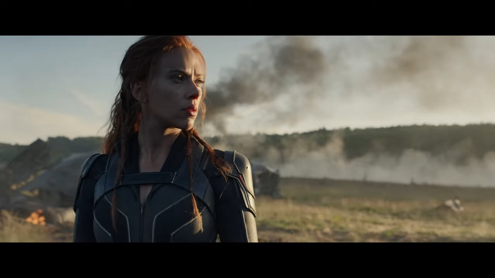 A screengrab from 'Black Widow' that stars Scarlett Johansson, Florence Pugh, David Harbour and Rachel Weisz among others.