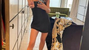 Victoria Beckham is Back to Spice Girl Look on 'Spicy Saturday'