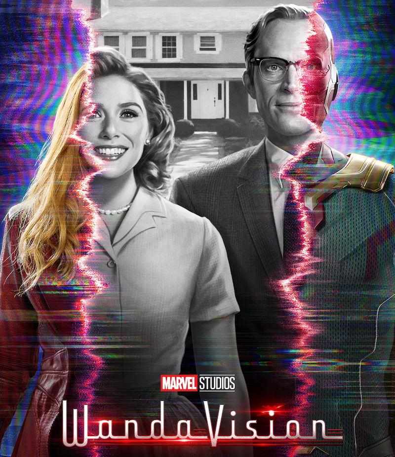 'WandaVision' sees Scarlet Witch and Vision disguising themselves as a married couple living in suburbia. — Picture courtesy of Disney+ Hotstar