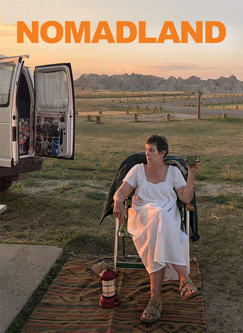 Frances McDormand plays Fern, a woman who becomes a van-dwelling nomad drifting across the United States. — Picture courtesy of Disney+ Hotstar