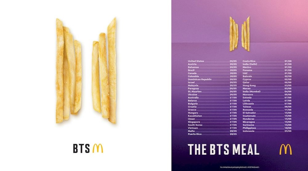 Malaysia was the first Asian stop for the exclusive BTS Meal collaboration between the K-pop band and the fast-food chain recently. — Pictures courtesy of McDonald's Malaysia