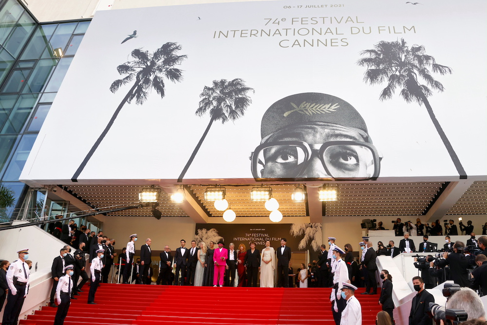 Opening ceremony and screening of the film 'Annette' in competition — Red Carpet arrivals — Cannes, France July 6, 2021. — Reuters pic